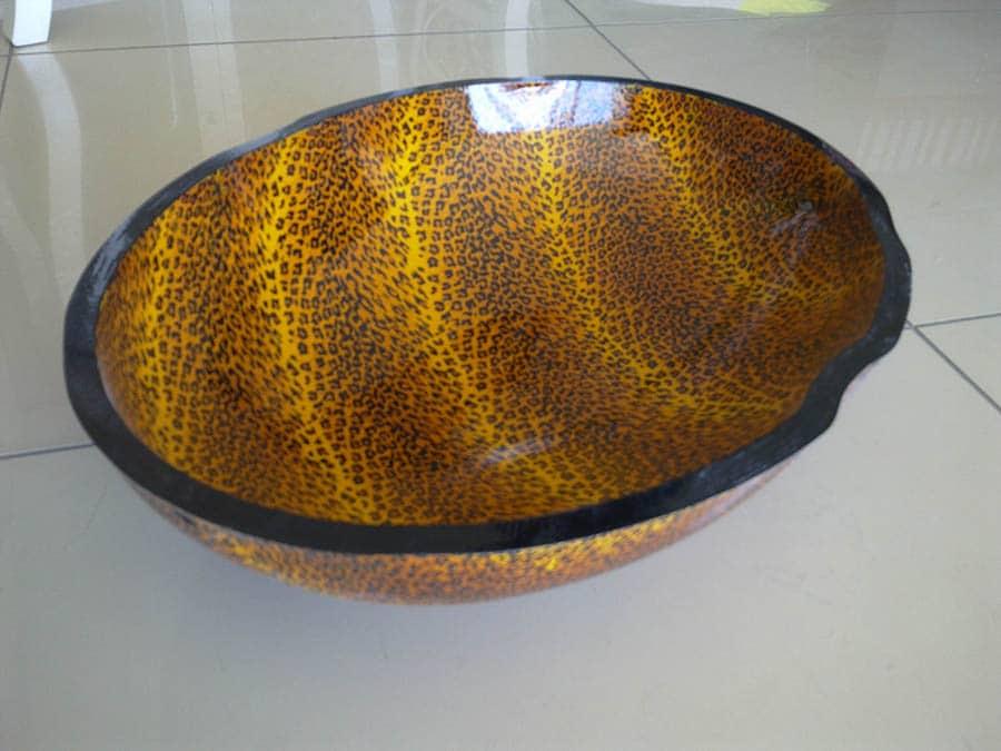 Sulu Kaplama Deri Desenleri FH06